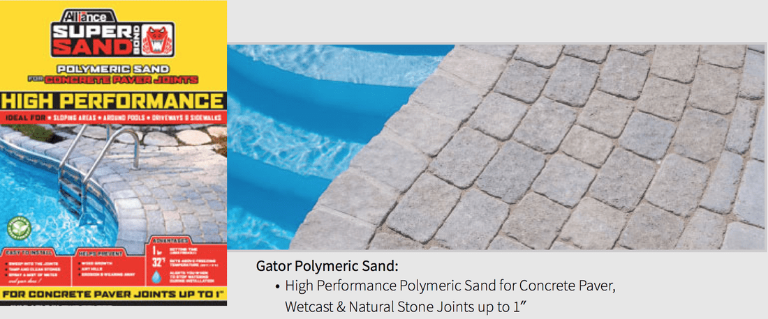 Alliance Gator Polymeric Sand for Paver Joints